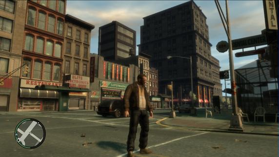 GTA4 на Xbox 360